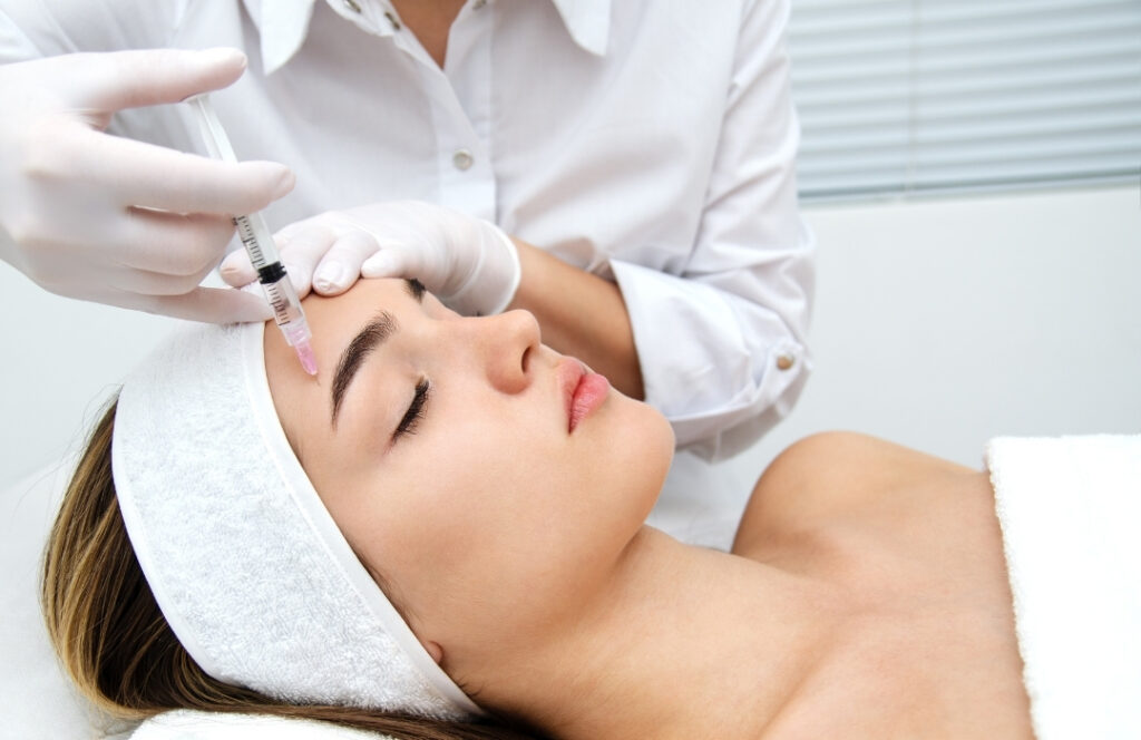 [Young Woman Receiving Injections] | Featured image for When to Inject Dermal Fillers | Blog