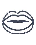 Lip Volume Enhancement Icon