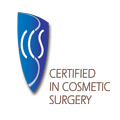 Certified in Cosmetic Surgery Logo | Brisbane Cosmetic Clinic